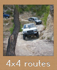 Rutas de 4x4 en Cuenca