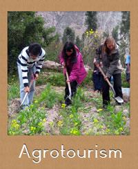 Practicar agroturismo en cuenca